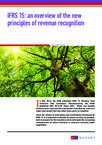 IFRS 15 an overview of the new principles of revenue recognition
